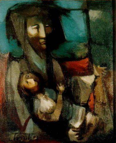 Maternidad, 1962, Batlle Planas, Juan (1911-1966) | Colección Konex