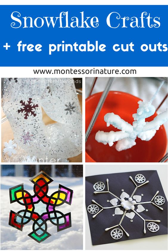 snowflake craft  snowflakes and crafts for kids on pinterest