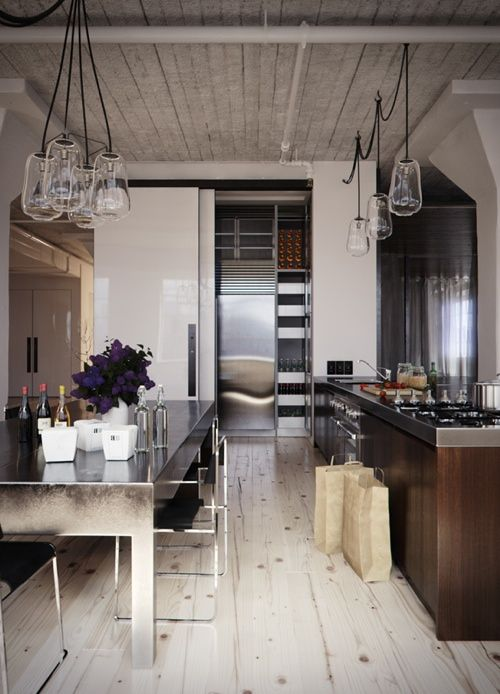 Industrie chic, küchen and fußböden on pinterest