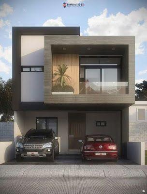 50 Amazing Minimalist Exterior House Design On A Budget Ara Home Minimalisthouseexterior Minimalistho Facade House Small House Design Duplex House Design