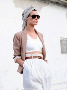 The Turban:The Urban Boho Chic Movement but in black I would love!