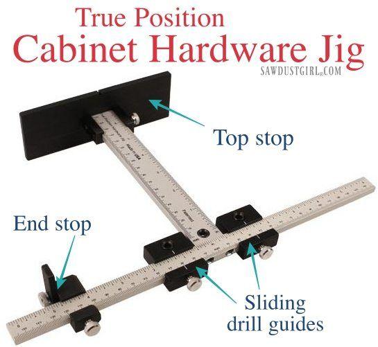 Cabinet Hardware Jig For Long Door Pulls Cabinet Hardware Jig Diy Furniture Building