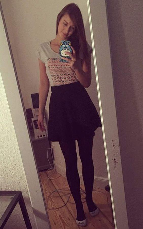 Sjokz casual outfit #7... Emma Stone