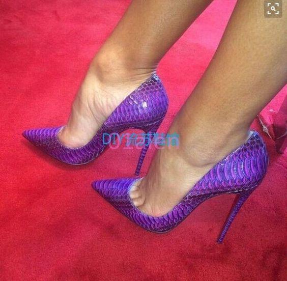 Womens Classic Pumps Slip On Wedding Crack Shoes Wedding Clubwear Stilettos 2016