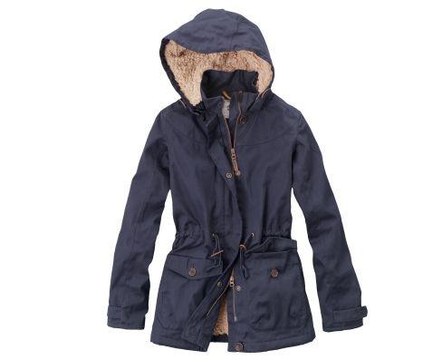 Timberland - Women's Abington Fleece-Lined Waterproof Coat ...