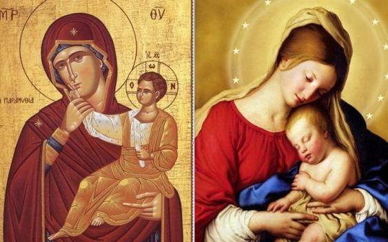 Care sunt principalele deosebiri între icoanele ortodoxe şi cele catolice | adevarul.ro