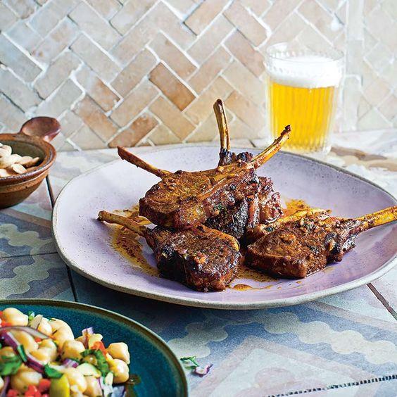Gegrilde lamskoteletten recept - Jamie magazine