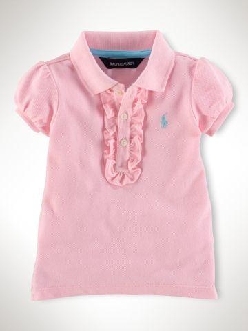 Short-Sleeved Polo Shirt - RalphLauren.com