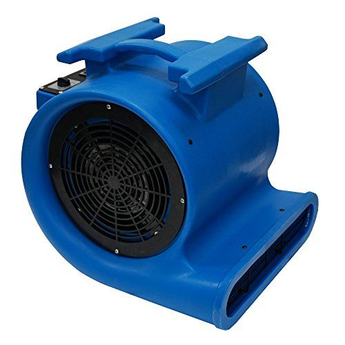 Mounto 3 Speed Air Mover Blower 1hp 4000 Cfm Monster Floor Carpet Dryers Upholstery Cleaner Movers Low Pile Carpet