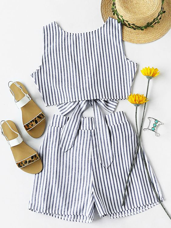 Brilliant Stripes Outfits