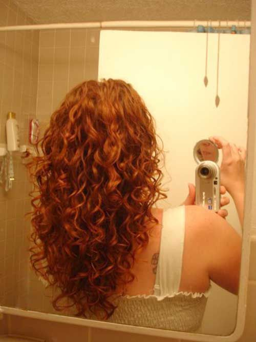 Layered Haircuts Curly Red Hair                                                                                                                                                      More
