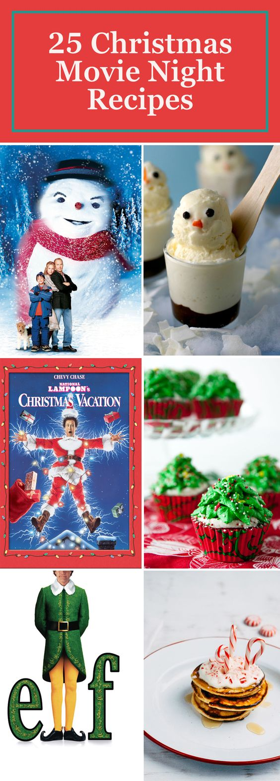We've got the perfect pairings for all of your favorite Christmas movies, from savory snacks to delicious desserts. These Christmas recipes will bring a whole new level of holiday magic to your next movie night.