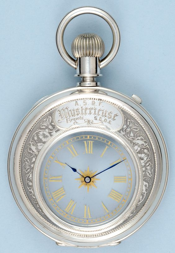 Antique Pocket Watches - Silver Mystery Watch - Vintage Pocketwatches from…