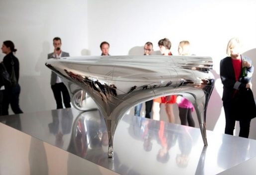 Perfect Cool Futuristic Desk With Silver Finish You See Below Is Designed By Jeroen  Verhoeven. | Exhibiton | Pinterest | Desks And Futuristic Furniture Design Inspirations