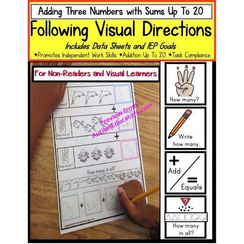 Addition Worksheets : addition worksheets visual Addition ...