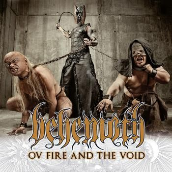 Behemoth – Ov Fire and the Void (single cover art)