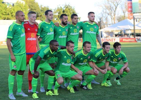 Sunderland v Club de Futbol Pachuca on their North American tour. Picture: David Mackie.