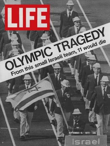 Another sad memory... 1972 - Terrorism at the Munich Olympic Games