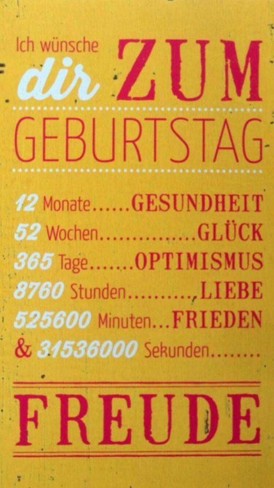 Schöner Geburtstag wünsch | Witze, Sprüche & Co | Pinterest ...