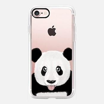 Casetify iPhone 7 Case and Other iPhone Covers - Cute Panda by Barruf | #Casetify