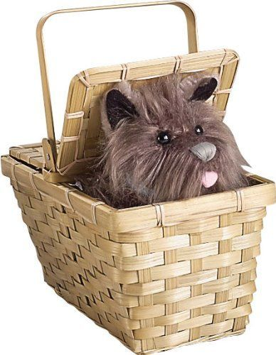 Wizard of Oz Toys for Preschoolers: Wizard of Oz Dorothy's Toto in a Basket