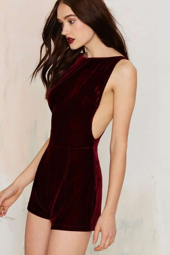 Motel Yay Velvet Romper - Clothes | Rompers + Jumpsuits | Dark Romance | Rompers | Pinterest ...