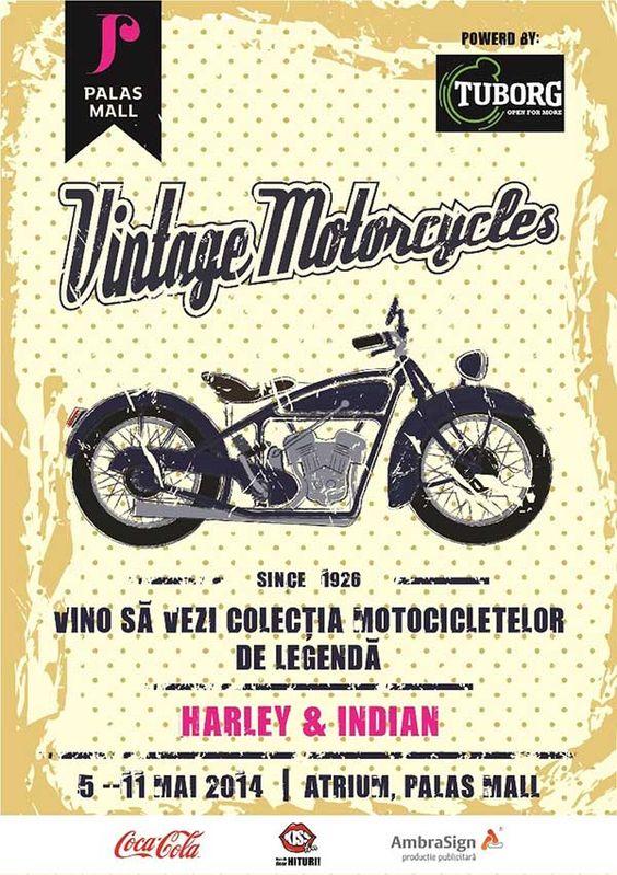 Expozitie de motoare vintage la Palas