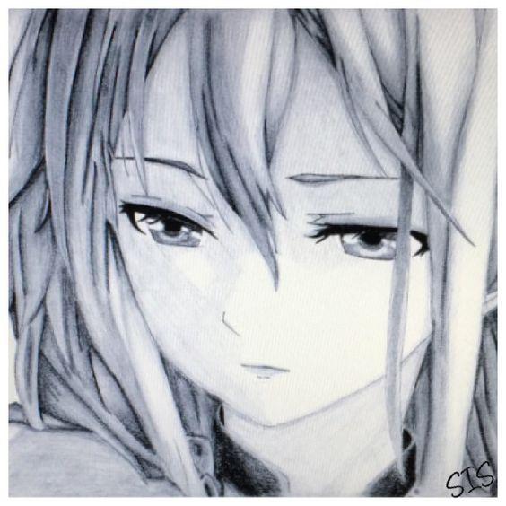 Anime-Manga Zeichnung  (Mädchen)