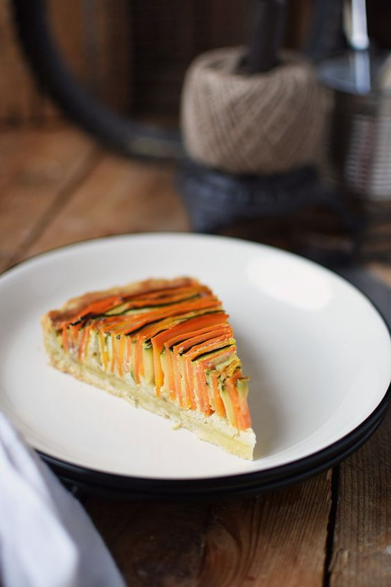 Gemuese Spiral Tarte - Vegetable Spiral Tart (21)