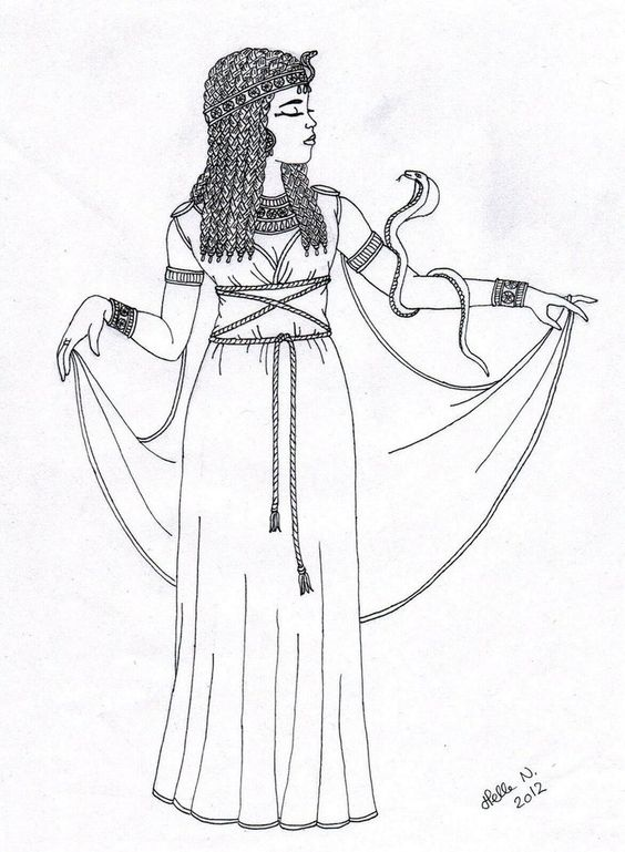 cleopatra coloring page - pinterest the world s catalog of ideas