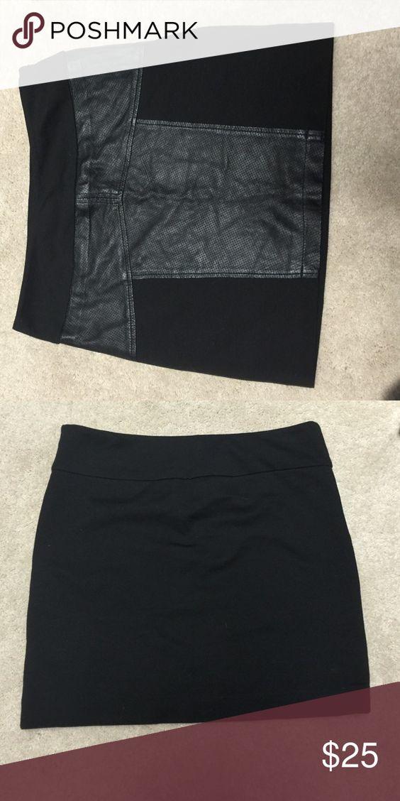 BCBGeneration skirt Leather skirt from BCBG BCBGeneration Skirts