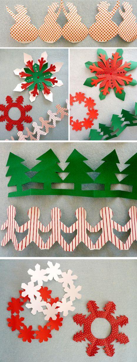 decorations de noel à fabriquer