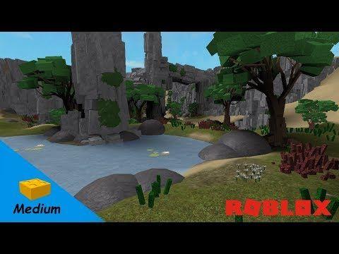 60 Roblox Studio Speed Build Oasis Youtube Roblox Oasis