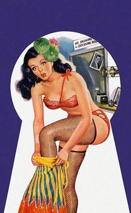 Peter Driben | Pin Up artist | Vintage art #Pin-Ups #Vintage #Retro #Sexy #Girls #Posters