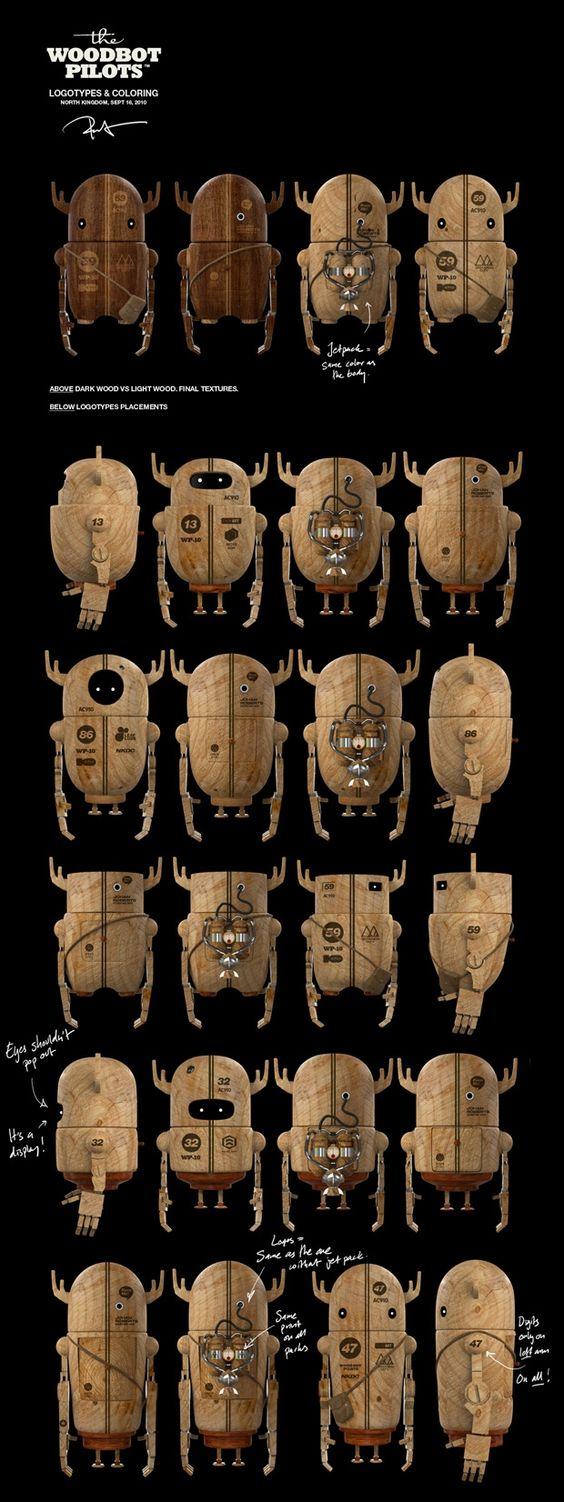 Design, woodbots, toy