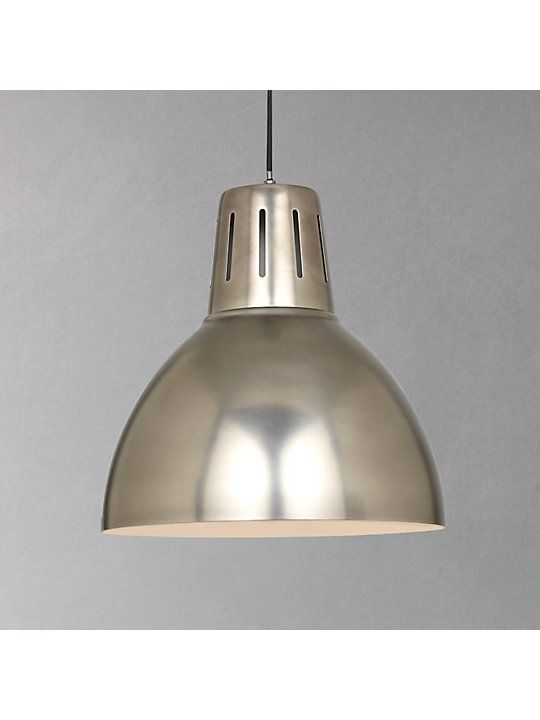 John Lewis Partners Hampton Pendant Silver Ceiling Lights