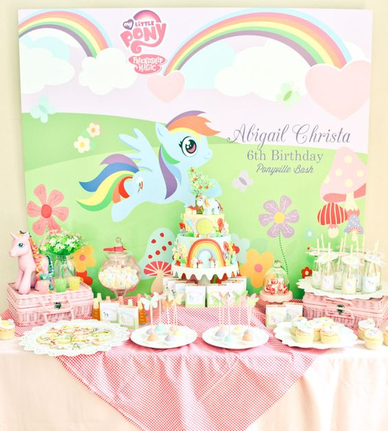 my lil pony birthday party ideas photo of catch my party