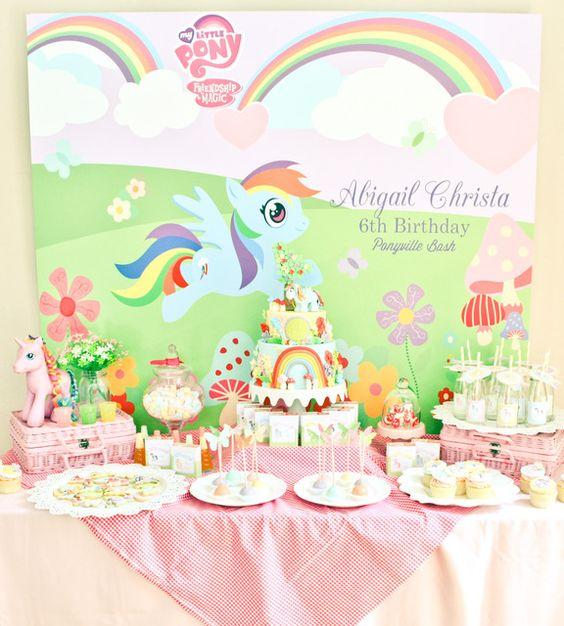 my lil pony birthday party ideas photo of catch my party