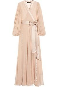 chiffon robe