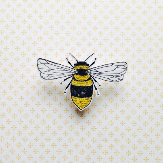 Shrink plastic bees and plastic on pinterest for Plastic bees for crafts