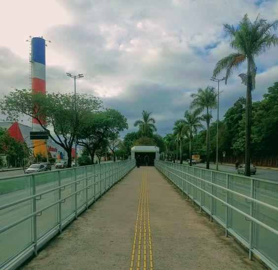 Dia tranquilo, nesse primeiro dia de novembro de 2020. Estação UFMG.
