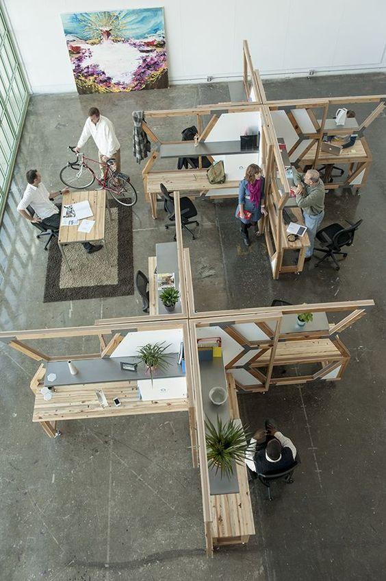 Espacios diseñados para creativos profesionales.