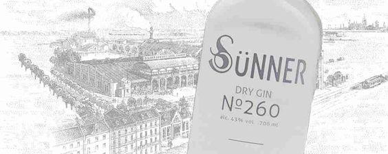 Sünner Dry Gin N° 260. Mild und schlicht. Perfekt um das lange Wochenende ausklingen zu lassen.