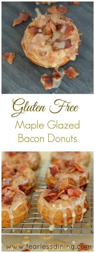 Maple bacon, Gluten free and Gluten on Pinterest