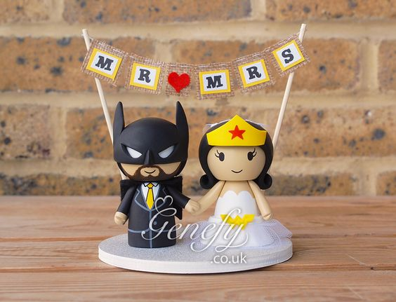 Batman and Wonder Woman by Genefy Playground https://www.facebook.com/genefyplayground:
