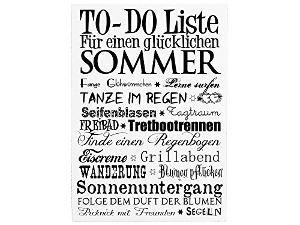 42x30cm XXL Shabby Dekoschild Holzschild TO DO LISTE SOMMER Wandtafel Geschenk