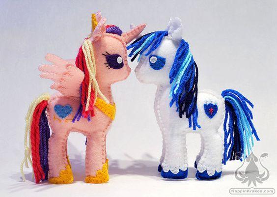 Princess Cadence and Shining Armor My Little Pony Petite Plush