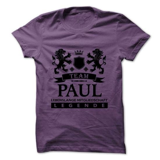 PAUL -Team Life Time - #gifts for girl friends #gift for men. PAUL -Team Life Time, gift friend,cute shirt. CHEAP PRICE =>...