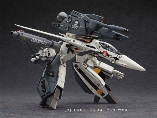 f-for-fighter:  1/72 超時空要塞マクロスシリーズ No.26 VF-1S/A ストライク/スーパー...