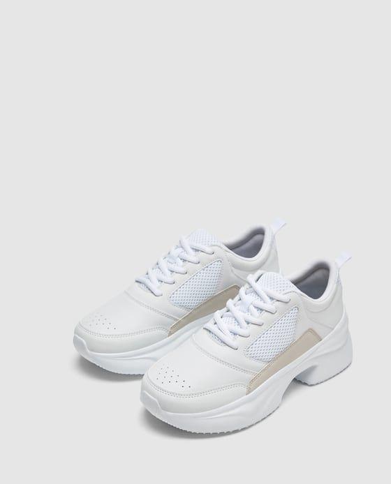 Thick Soled Sneakers Sapatilhas Capodarte Sapatilhas Mulheres Desportivas